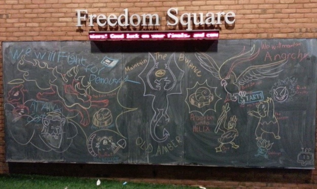 towson university freedom square twitch plays pokemon mural